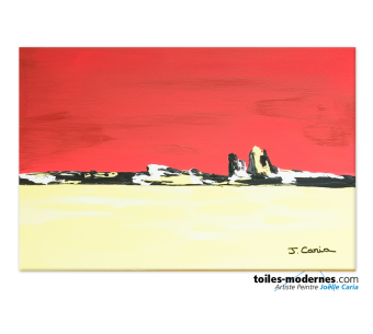 Rivage (tableau rouge)