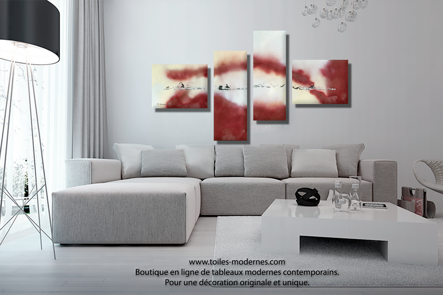 Tableaux contemporains pour une d co minimaliste ultra tendance et design - Tableau art contemporain design decoration ...