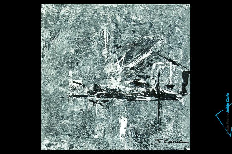 Tableau design gris pas cher oeuvre d 39 art moderne ch ssis en bois pour un - Tableaux modernes pas chers ...