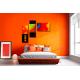 Tableau chambre colorée Une vie toute en couleurs