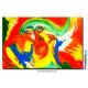 Tableau coloré La planète des singes