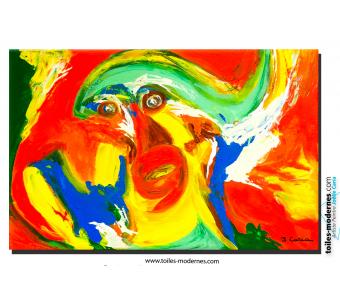 Tableau Art nouveauté La planète des singes moderne