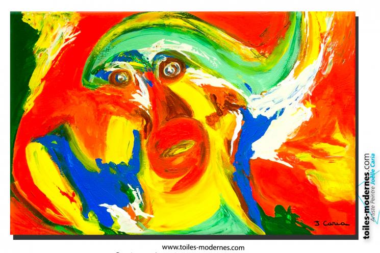 toile moderne art