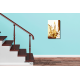 déco marron montée d'escalier Découverte d'une ville nouvelle