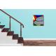Tableau nu déco escalier  Sur la plage