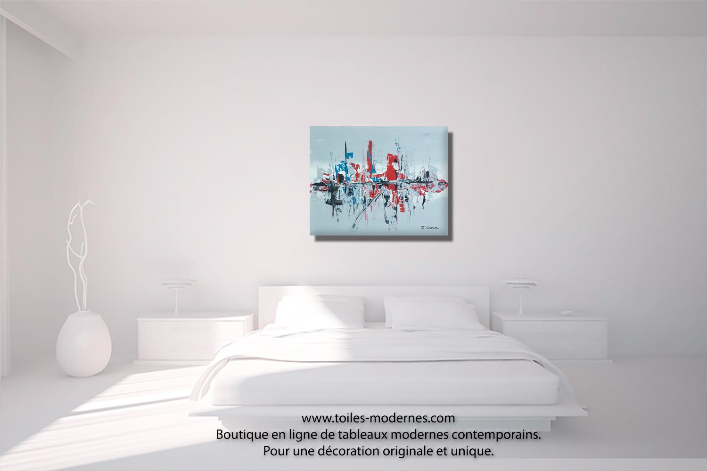 tableau gris moderne petit prix objet d co design unique id e cadeau original. Black Bedroom Furniture Sets. Home Design Ideas