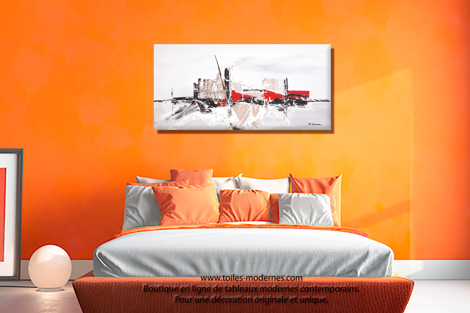 Perfect decoration peinture chambre adulte clermont for Photo peinture chambre adulte moderne
