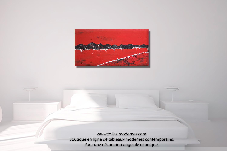 tableau chambre great ici ou lbas sur des pans de murs entier with tableau chambre good. Black Bedroom Furniture Sets. Home Design Ideas