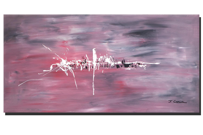 Tableau Rouge Gris Contemporain Cr Ations Abstraites Grands Formats