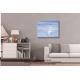Tableau gris blanc moderne dans salon Vacances en mer