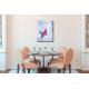 Tableau décoration salle à manger gris taupe A l'heure de l'apéro