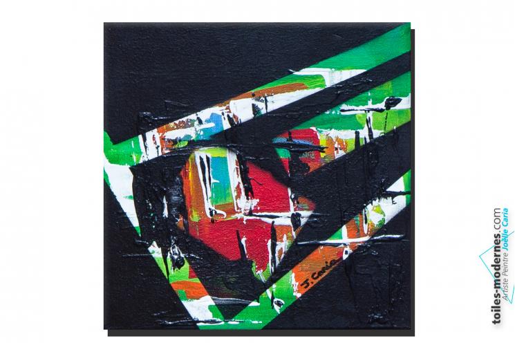 Tableau noir vert moderne Contraste