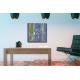 Tableau décoratif gris vert salle d'attente La lanceuse de javelot