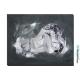 Tableau décoratif gris anthracite Désir