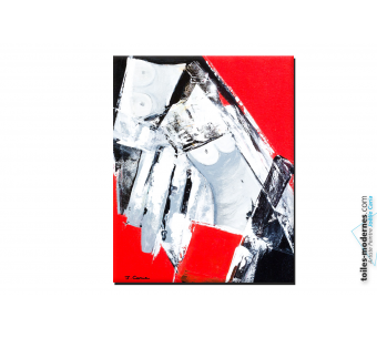 Création rouge et noir nu moderne : City Love