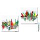 2 carré d'artiste contemporain Pleines voiles tableauc colorés pas chers