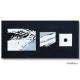 Art shopping noir et blanc design Langage et Communication