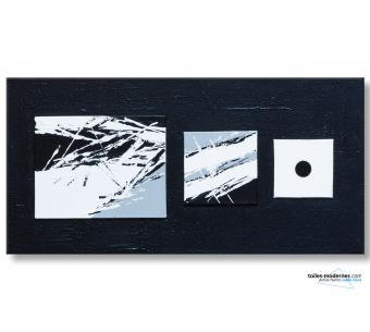 Langage et Communication : tableau noir et blanc