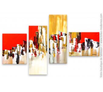 toiles modernes boutique de tableaux modernes abstraits. Black Bedroom Furniture Sets. Home Design Ideas