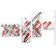 Déco design tableau gris XXL Propulsion