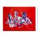 Objet déco rouge design : Une ville fascinante
