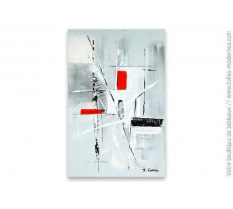 Tableau moderne pour déco design : Subtile abstraction
