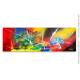 Grand tableau panoramique coloré : Bouleversement planétaire