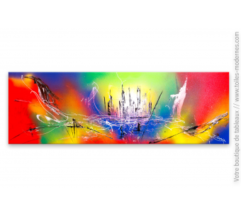 Tableau coloré pour déco moderne : Un nouvel univers