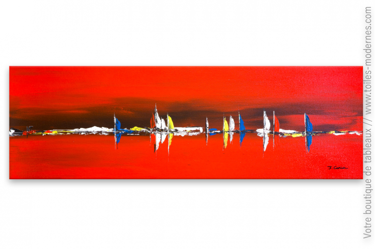 Peinture marine rouge : Brise marine