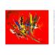 Déco design colorée avec une oeuvre moderne : Transformation tonique