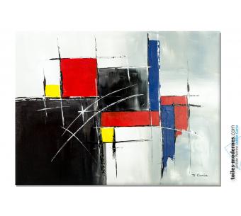 Objet décoratif unique, un tableau d'art moderne : Coalition