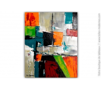 Déco avec beaucoup de couleurs modernes : Un royaume coloré