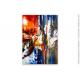 Oeuvre d'art colorée pour maison de prestige : Soirée romantique