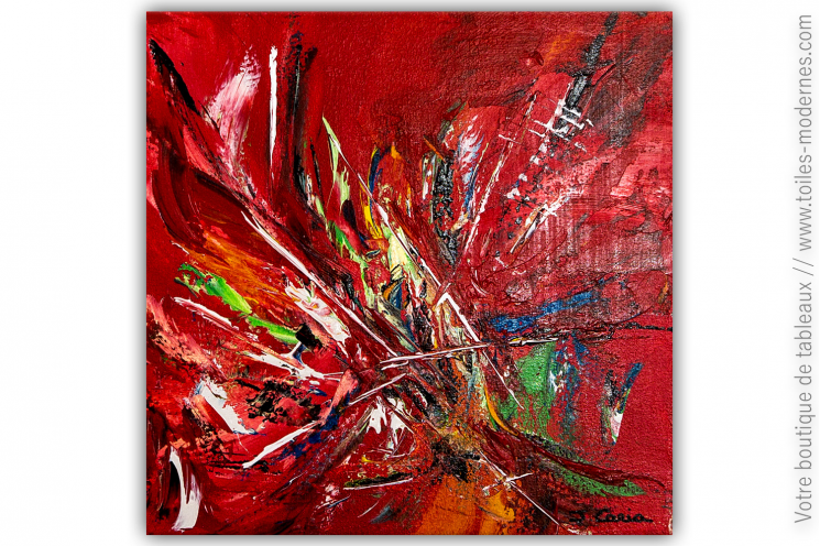 Objet déco rouge unique : Le pouvoir secret des couleurs