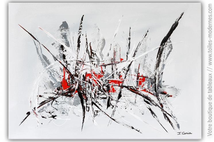 Oeuvre d'art moderne pour déco chic : Prémonition