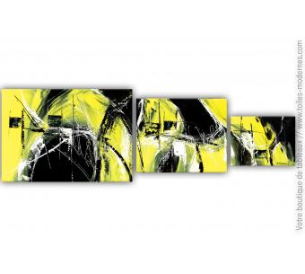 Triptyque vert anis : Dans la chaleur de la nuit