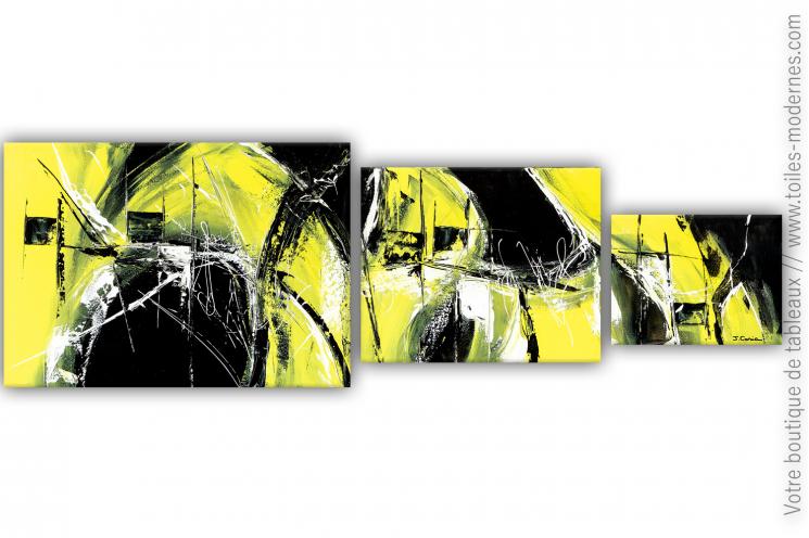 Déco moderne noire et vert anis : Dans la chaleur de la nuit