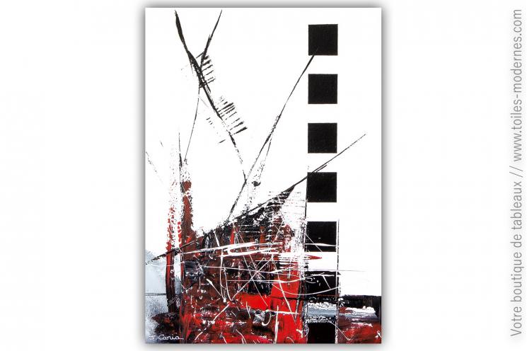 Déco blanc et noir design, style minimaliste : Une ville immortelle