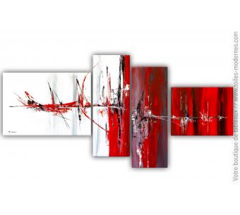 Tableau blanc et rouge : Nouvelle vague de chaleur