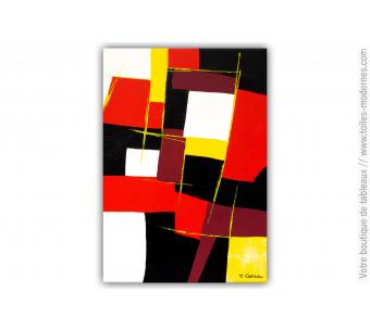 Tableau coloré moderne : Egarement