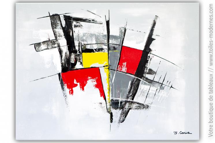 Peinture grise contemporaine : Le grand frisson