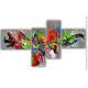 Oeuvre d'at colorée unique : L'excentricité dans l'art