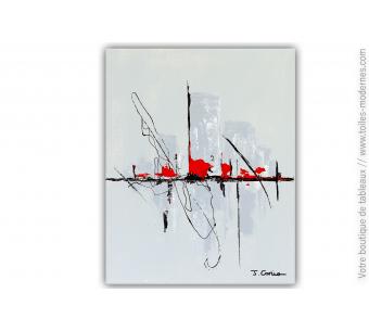 Déco design avec une peinture minimaliste moderne : Un univers mystique