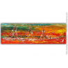 Grande décoration murale colorée moderne : Au gré des couleurs