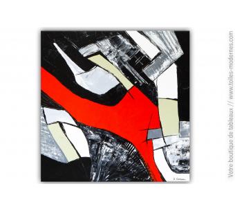 Tableau abstrait géant  XXL :  Nouveau regard