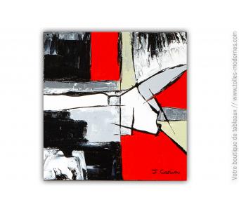 Tableau moderne noir : Nouveaux espaces