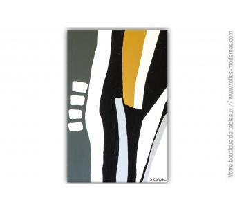 Tableau artistique décoratif pour intérieur design : Grand débat