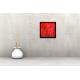 Tableau APPROACH (tableau rouge) moderne