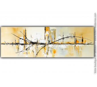 Grande décoration murale beige  : Un havre de paix