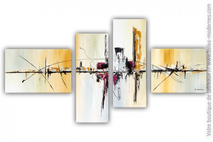 Déco murale beige et marron avec une création moderne  : Nostalgie